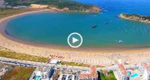Beleza e diversão em São Martinho do Porto