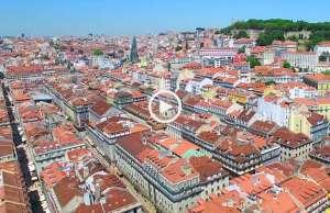 Fenomenal! Lisboa vista do céu!