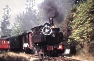 O Comboio de antigamente