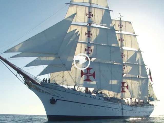 O navio mais bonito do mundo é português