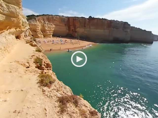 Praia de Benagil em 360º