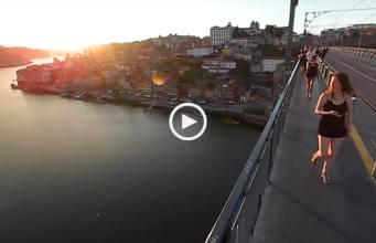 As vistas da Ponte D. Luís em 360º