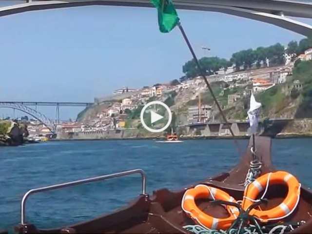 Fabuloso passeio de barco entre Porto e Gaia