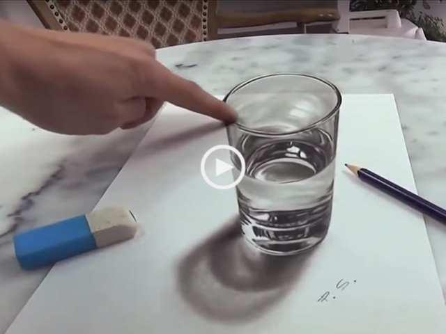 Que talento! Os melhores desenhos 3D do mundo