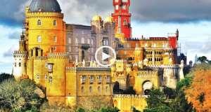 Sintra, fabuloso Palácio da Pena!