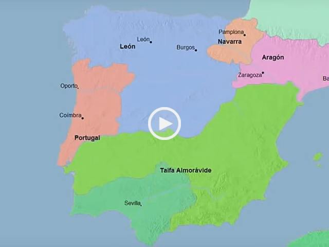 Mapa Histórico de Portugal e Espanha em 3.000 anos!