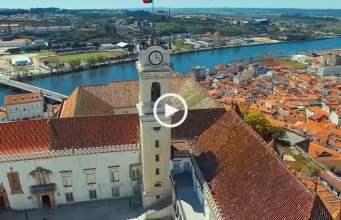 Fabuloso! Coimbra vista do céu! (Ultra Alta Definição)