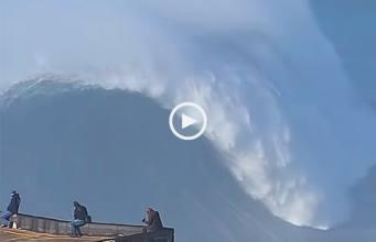ondas da Nazaré