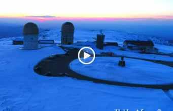 Maravilhoso! A Serra da Estrela ao Pôr do Sol!