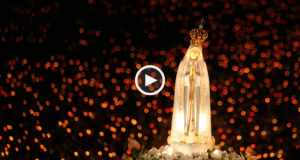 Emocionante procissão das velas em Fátima