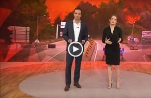 TV GLOBO e o incêndio em Pedrógão Grande