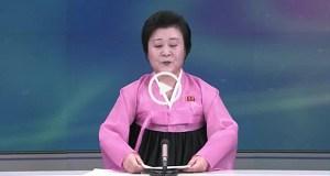 A mulher que anuncia os testes nucleares na Coreia do Norte