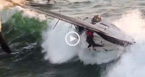 A força brutal das tempestades no Mar