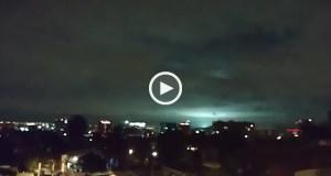 Que luzes estranhas eram aquelas durante o sismo no México