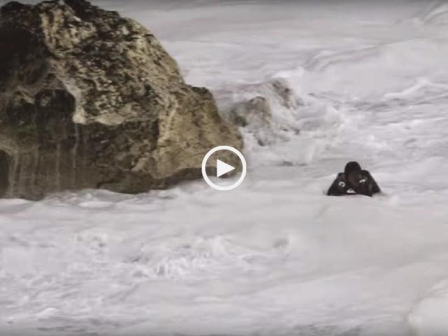 Arrepiante: Surfista quase morre nas ondas da Nazaré