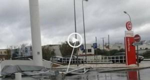 Este é o 2º tornado a atingir o Algarve