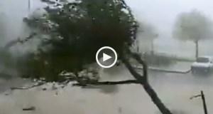 Tornado Devastador em Faro