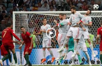 Imagens que ficarão para sempre gravadas na memória de todos, pelas melhores e piores razões. O desespero da Espanha depois do 3º golo de Portugal.