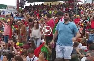 Portugal vibrou com o golo de Ronaldo