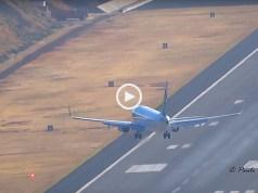 Aterragens incríveis na Madeira Junho 2018
