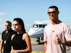 Cristiano Ronaldo já chegou a Turim