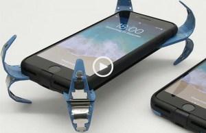 Estudante cria o primeiro airbag para telemóveis