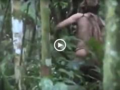 Imagens inéditas do último sobrevivente da tribo amazónica
