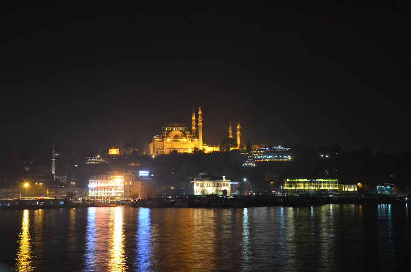 New Mosque - view from Galata Bridge