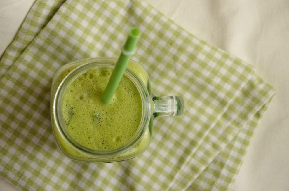 Špenátovo-ananasový drink