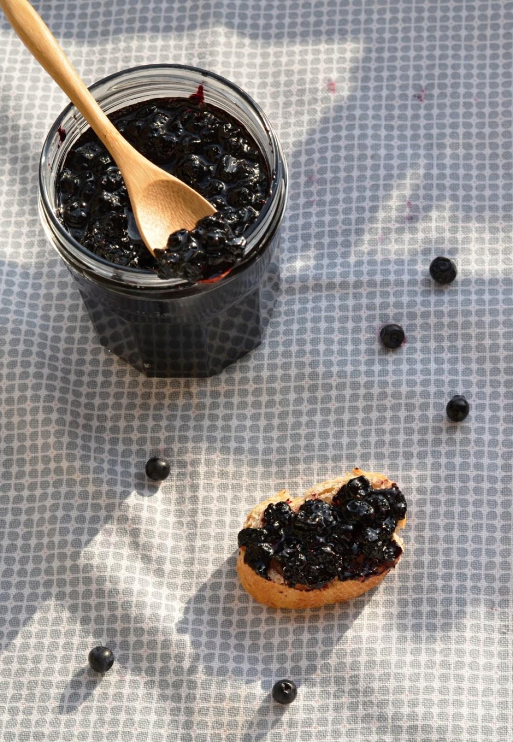Borůvkový džem s Rulandským modrým