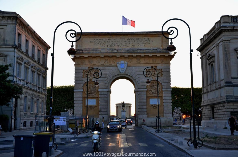 Vítězný oblouk, Montpellier