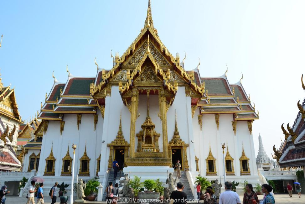 Královský palác v Bangkoku - Dusit Maha Prasad