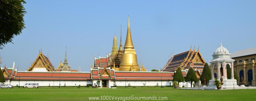 Wat Phra Kaew - Chrám Smaragdového Buddhy