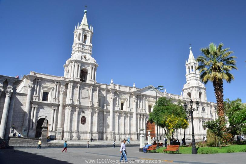 Beautiful colonial city of Arequipa, surrounded by volcanoes, is an entry gate to Colca Valley. Here are 10 things to do in Arequipa.