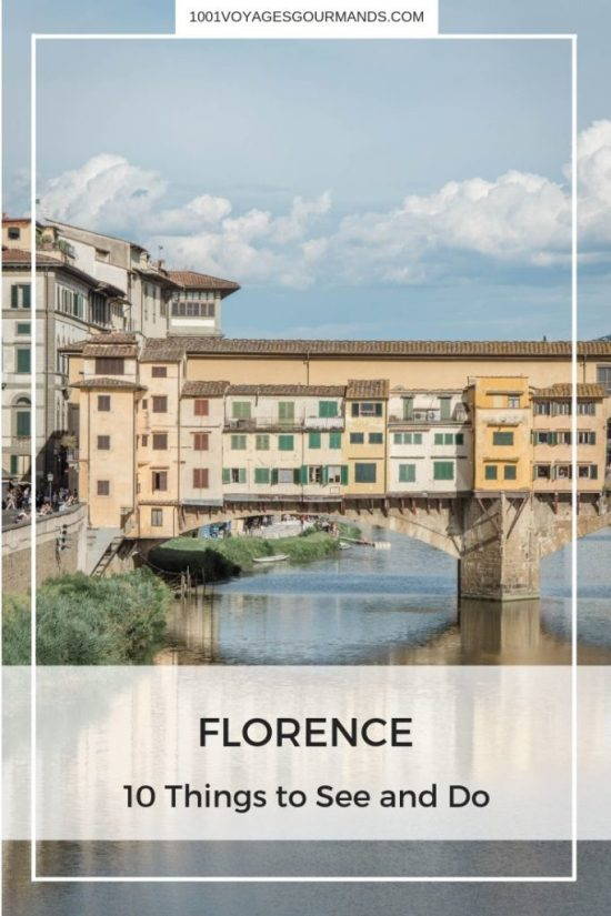 Although getting lost in the little streets is a great way to discover the city, here are our tips for 10 things to see and do in Florence.