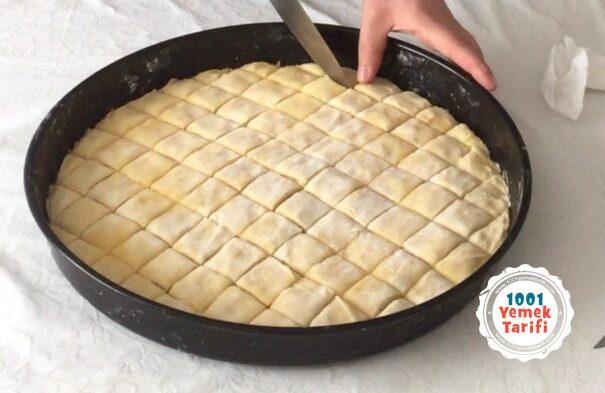 evde baklava tarifi-ev yapımı kolay cevizli baklava yapımı nasıl yapilir kaç kalori