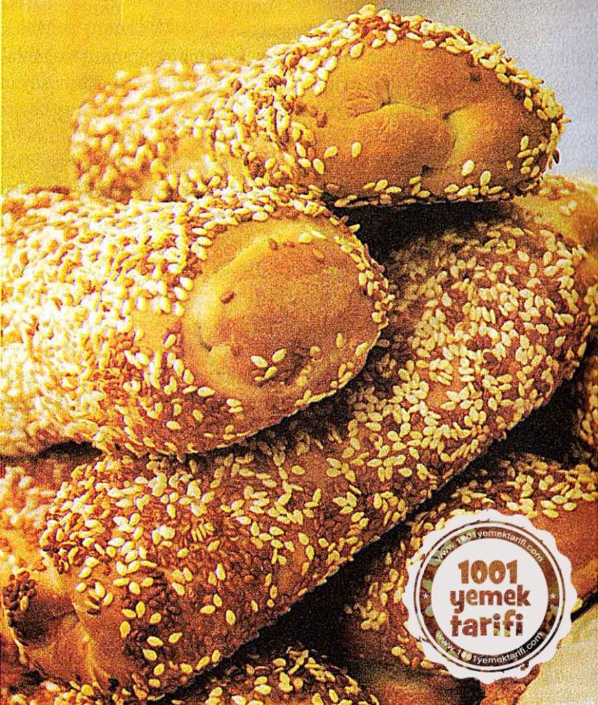 kariisik Saray Simidi Tarifi-Susamli Simit Nasil Yapilir- kac kalori ve besin degeri-resimli yemek tarifleri