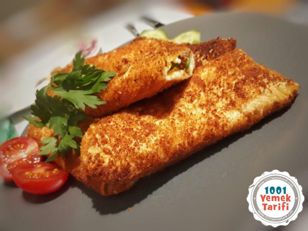 Hazır Yufkadan Börek Tarifi (peynirli-sucuklu)