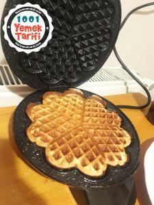 Ev yapımı Waffle Tarifi nasıl yapılır
