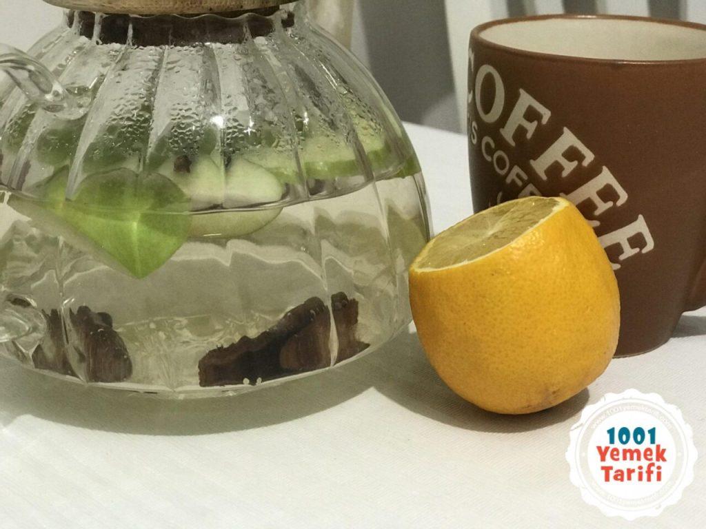 ödem nasıl atılır-ödem atıcı elma suyu çayı-odem sokturucu-