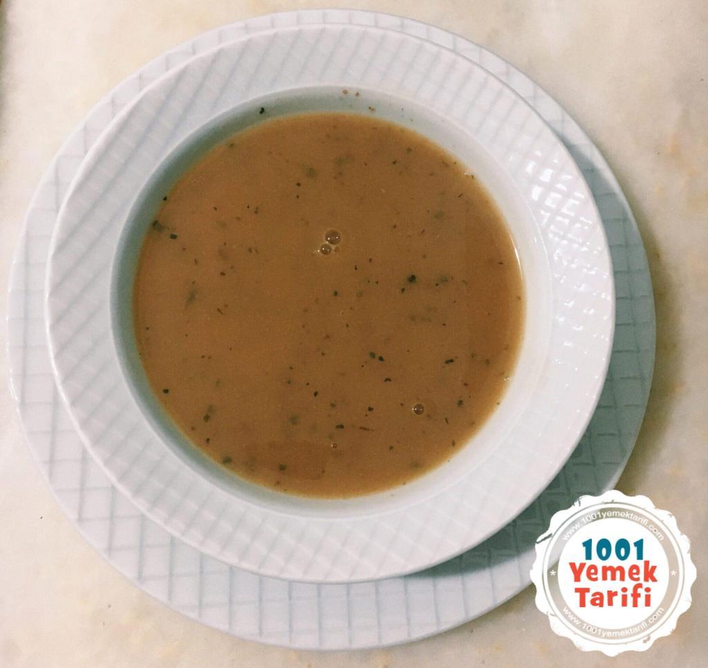 Barbunya Çorbası tarifi-diyet yemekleri-vejetaryen