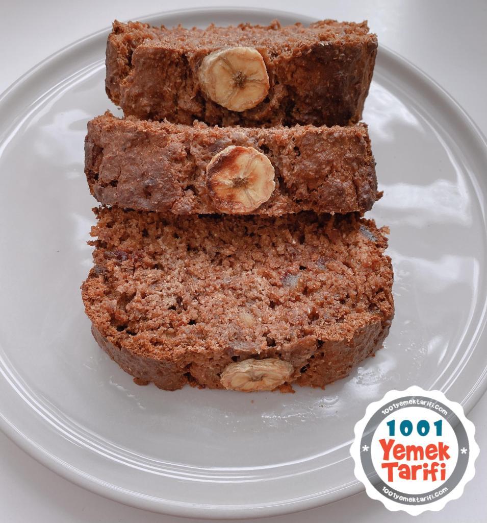 Hurmalı Fit Kek Tarifi-şekersiz diyet kek nasıl yapılır-kaç kalori