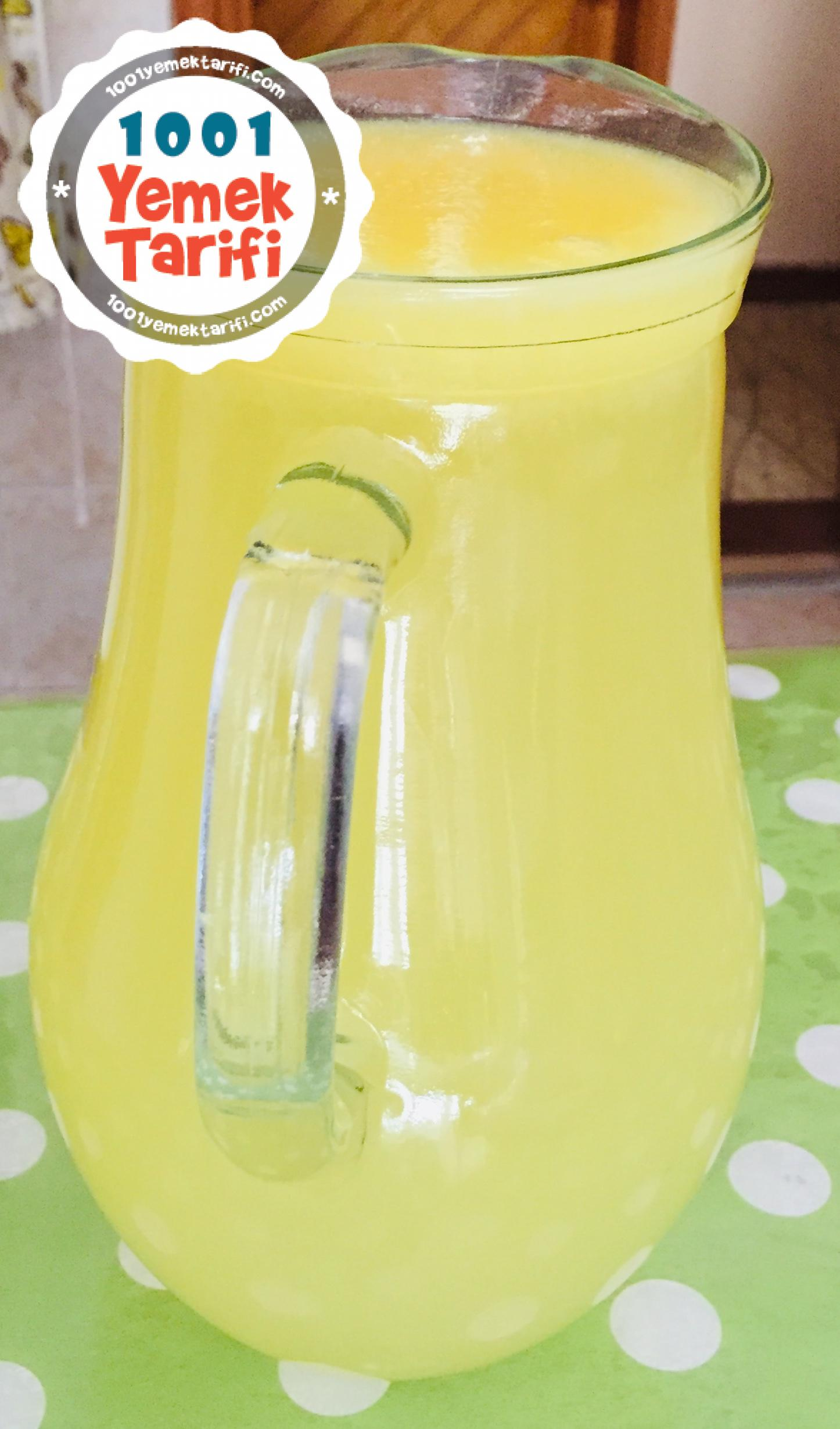 Ev Yapımı Limonata Tarifi-nasıl yapılır