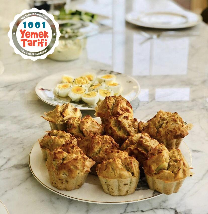Yulaf Unlu Muffin Tarifi-nasıl yapılır