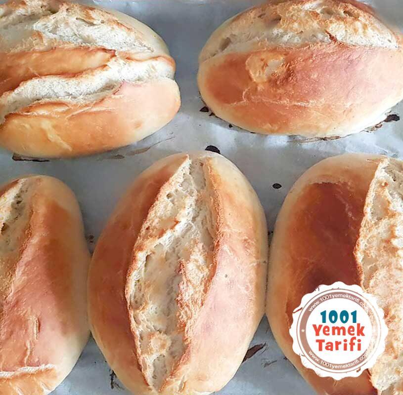 Ekmek Tarifi (fırın ekmeği nasıl yapılır)