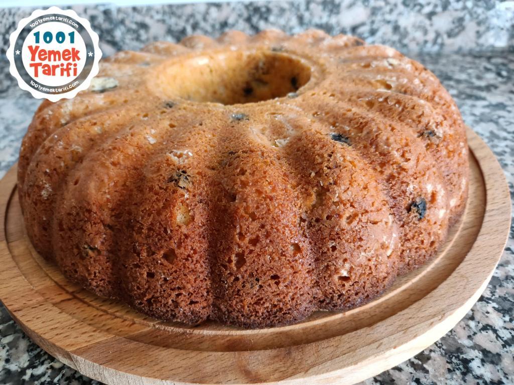 kolay Cevizli Kek Tarifi nasıl yapılır-kaç kalori