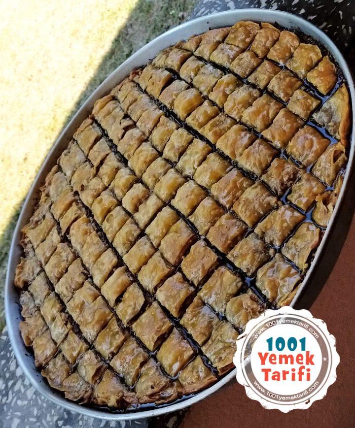 Baklava Tarifi nasil yapilir kac kalori-nefis-kolay-cevizli baklava yapimi