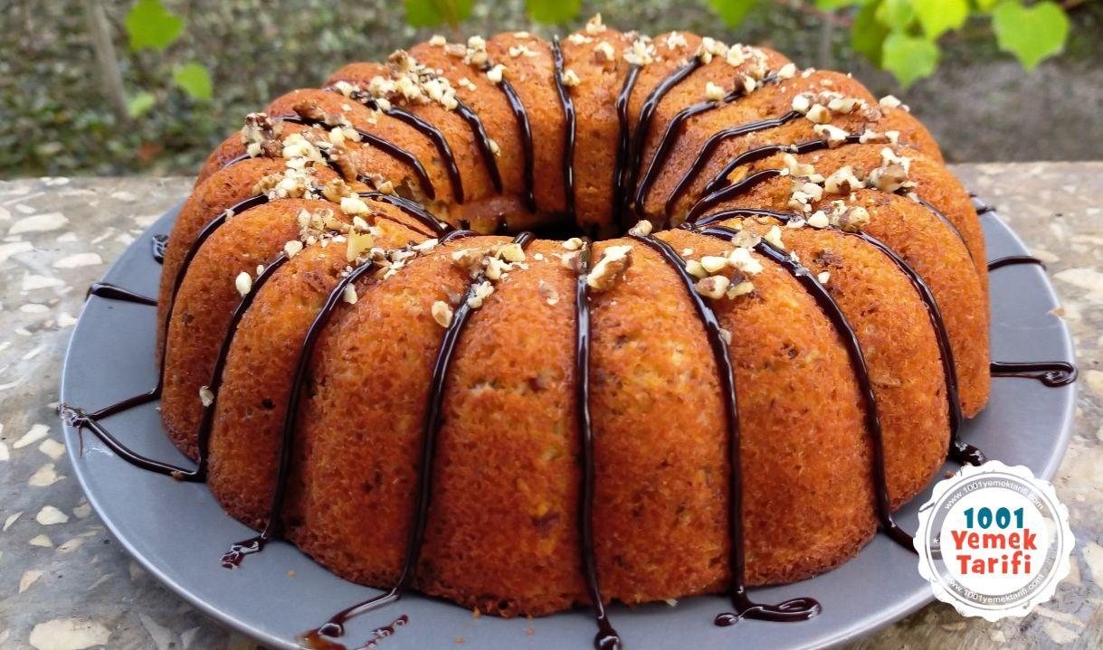 Cevizli Limonlu Kek Tarifi (nasıl yapılır-kaç kalori) yapımı