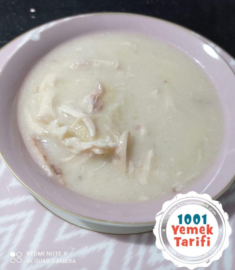 Lokanta Usulü Terbiyeli Tavuk Çorbası Tarifi
