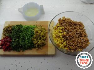 bulgur salatası tarifi nasıl yapılır